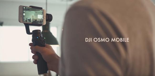 DJI OSMO MOBILEの製品プロモーション動画