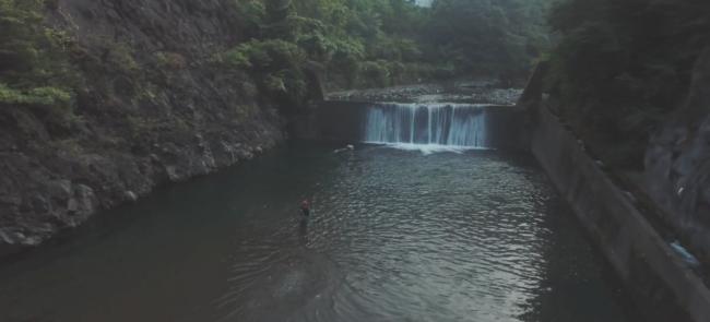 奈良県上北山村の川釣り動画
