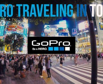 GoPro Traveling in Tokyo