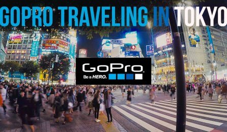 GoPro HERO5のボイスコントロール機能を紹介するプロモーション動画
